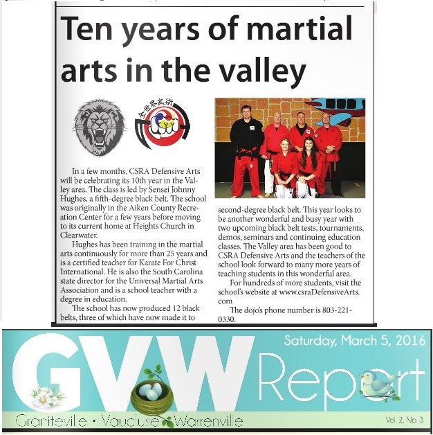 GVW Montly - March 5, 2016